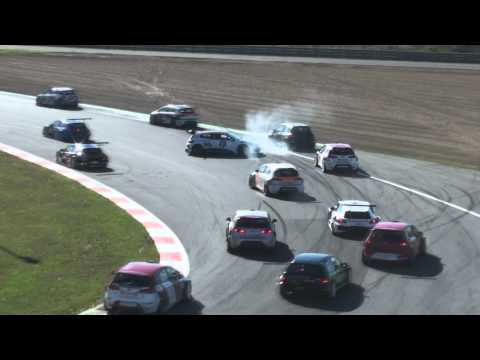 FIA GT3 Zolder 2010 crashes & spins