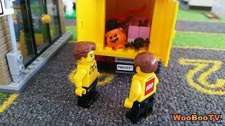 LASTENOHJELMIA SUOMEKSI - Lego city - Halloween painajainen - osa 1