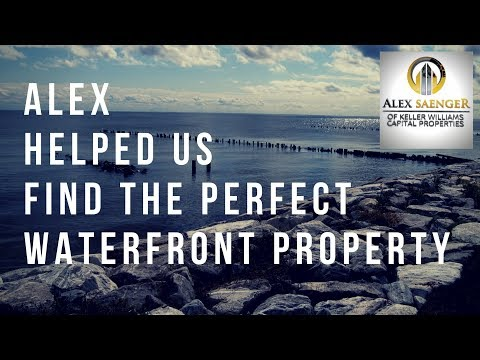 Alex Helped us find the PERFECT Waterfront Property