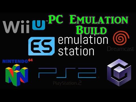 EmulationStation PC Build VLC - Cemu, Dolphin, Retroarch