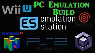 EmulationStation PC Build VLC - Cemu, Dolphin, Retroarch, and more