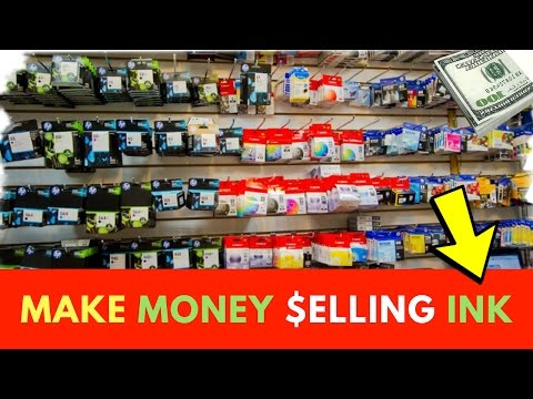 How To Make Money Selling Ink On Ebay And Amazon FBA
