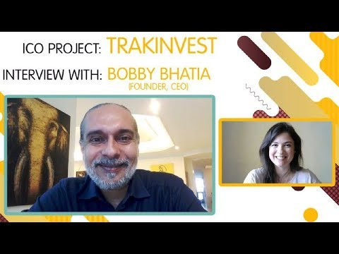 "ICO ""TRAKINVEST"" interview with  Bobby Bhatia  [ENG]"