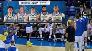 Blue Hens Playback - Men's Basketball vs. William & Mary (2/18/2017)