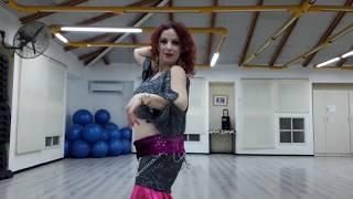 MK Yasmin -al- asuan - baladi Bellydance Roz Shalom improv