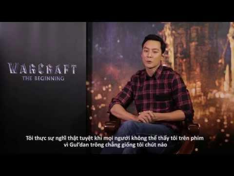 Daniel Wu in Warcraft