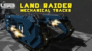 Space Engineers - Land Raider Space Marine - Warhammer 40k