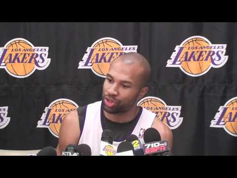 Lakers Guard Derek Fisher On NBA Blocking Chris Paul Trade