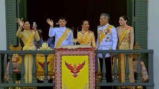 Последний день коронации короля Таиланда Рамы X