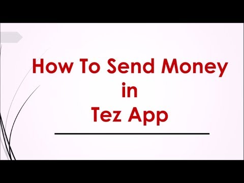 How To Send Money In Google Tez App   Tez Send And Receive Money Across India