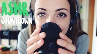 ASMR - Counting Down (Extreme Close Up Whispering)