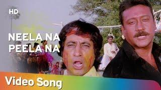 Neela Na Peela Na (HD)   Izzat (1991)   Jackie Shroff   Shakti Kapoor   Anu Malik Hit Songs