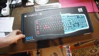 Обзор игровой клавиатуры Logitech G103