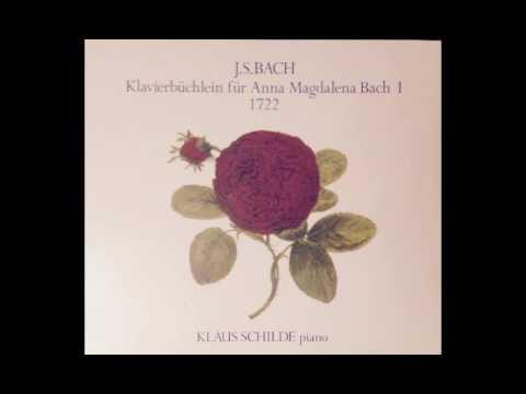 J.S. Bach Suite d-moll BWV 812 / Klaus Schilde