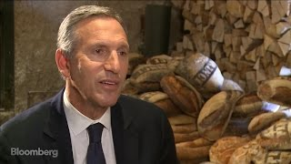 Starbucks CEO Schultz on Corporate Responsibility, Taxes