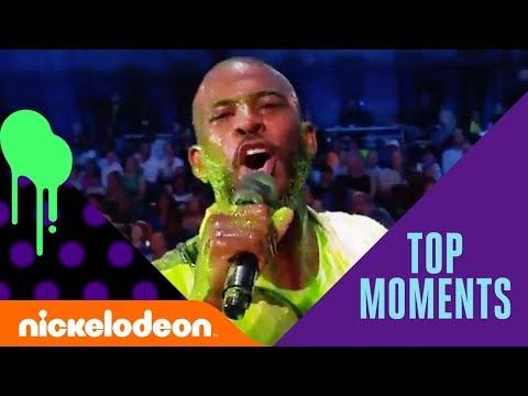 Wildest Show Moments w/ JoJo Siwa, Michael Phelps, Danica Patrick & More | KCS Awards 2018 | Nick