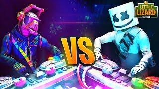 MARSHMELLO vs DJ YONDER in Fortnite