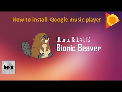 How to install Google Music Player Desktop on Ubuntu 18.04