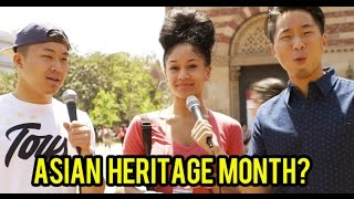 THERE'S AN ASIAN HERITAGE MONTH? Thumbnail