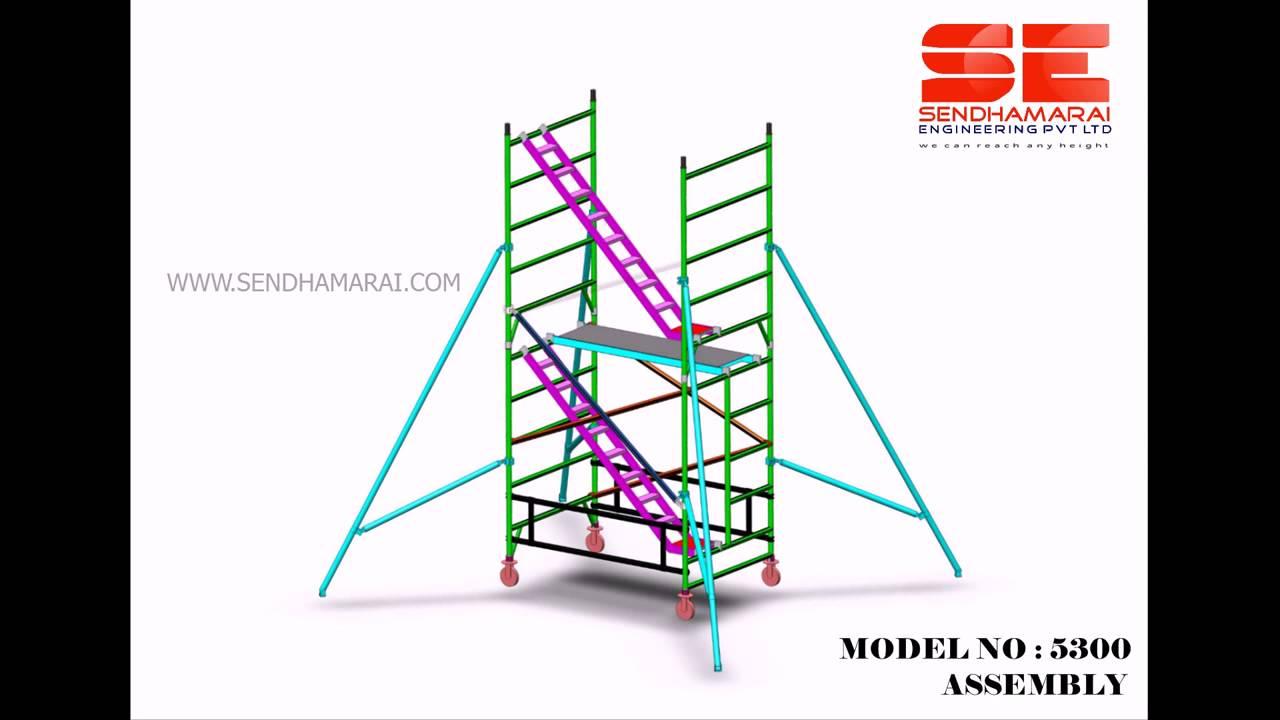 Aluminium Scaffolding Model 5300 By Sendhamarai Engineering Private Limited, Chennai