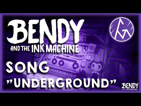 🎶BENDY AND THE INK MACHINE SONG (Underground) LYRIC VIDEO - GM🎶
