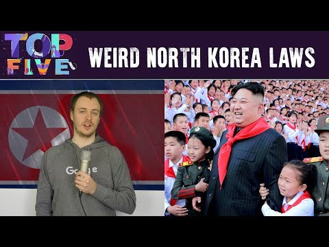 Top 5 Weird Laws in North Korea