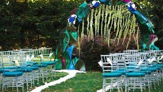 «Изумрудный витраж» — свадебный клип