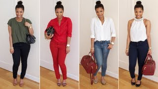 One of Shirley B. Eniang's most viewed videos: HOW I WEAR: Skinny Jeans | LOOKBOOK