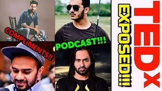Nabeel Qureshi Compliments Irfan Junejo - Shahveer Jafry Podcast With Waqar Zaka - Tedx Exposed