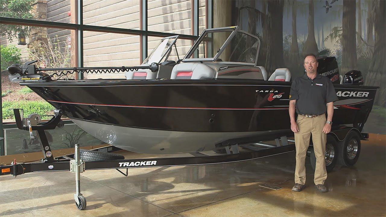 TRACKER Boats: 2016 Targa V-20 WT Deep V Fishing Boat Walk Around with Rick  Emmitt
