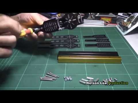 HobbyKing X650F QuadCopter - Assembly Video