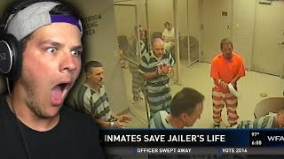 PRISONERS SAVE JAILERS LIFE | Beasty Reacts