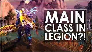 WoW Legion Prep: Choosing My Main & Runner Up Classes