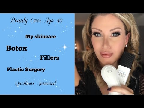Over 40 Beauty: My Skincare Routine + Thoughts on Botox and Fillers!