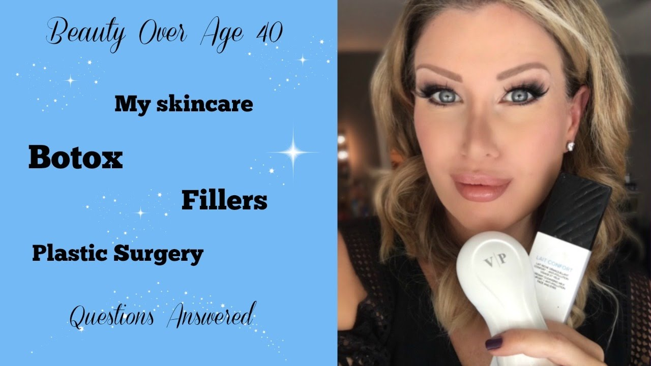 Over 40 Beauty My Skincare Routine Thoughts On Botox