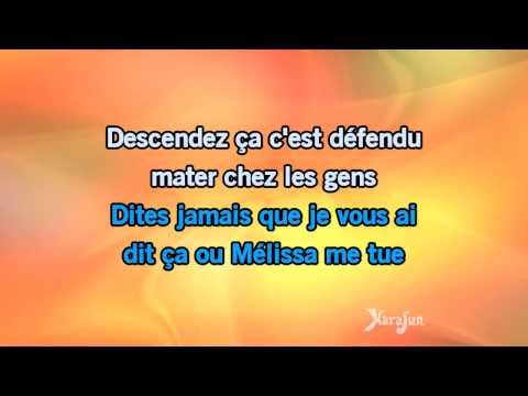 Karaoké Mélissa - Julien Clerc *