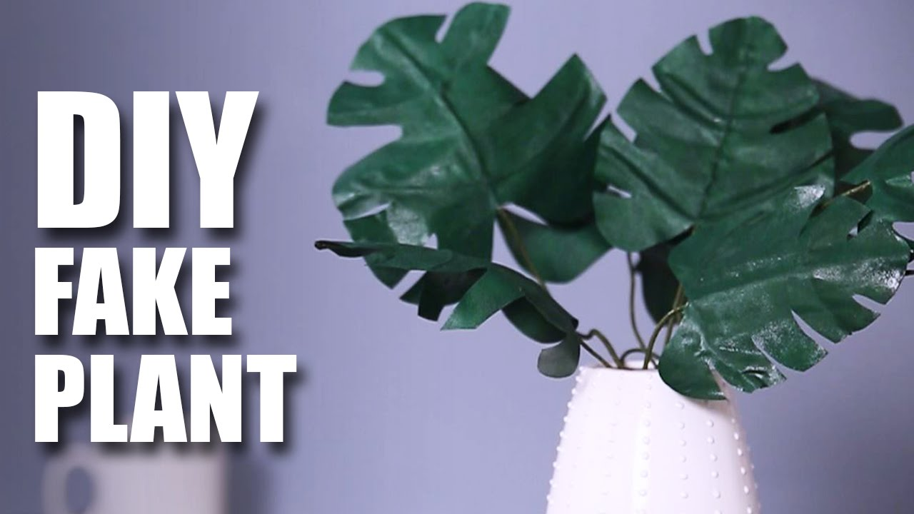 unbelievable house plant with green and pink leaves. How To Make A Fake Plant DIY Room Decor Idea Mad Stuff With Rob YouTube  unbelievable house plant with green and pink leaves The Best 100 Unbelievable House Green And Pink Leaves