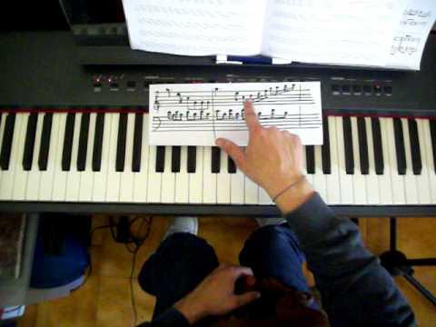 LEZIONE DI PIANOFORTE 37 - Leggiamo insieme uno spartito parte 2