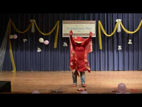 Ghoomar from PADMAAVAT (IUCAA Foundation Day 2017 performance)