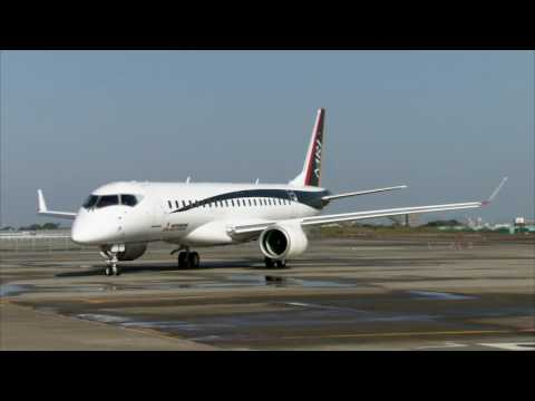 Mitsubishi MRJ: first test flight of FTA-3