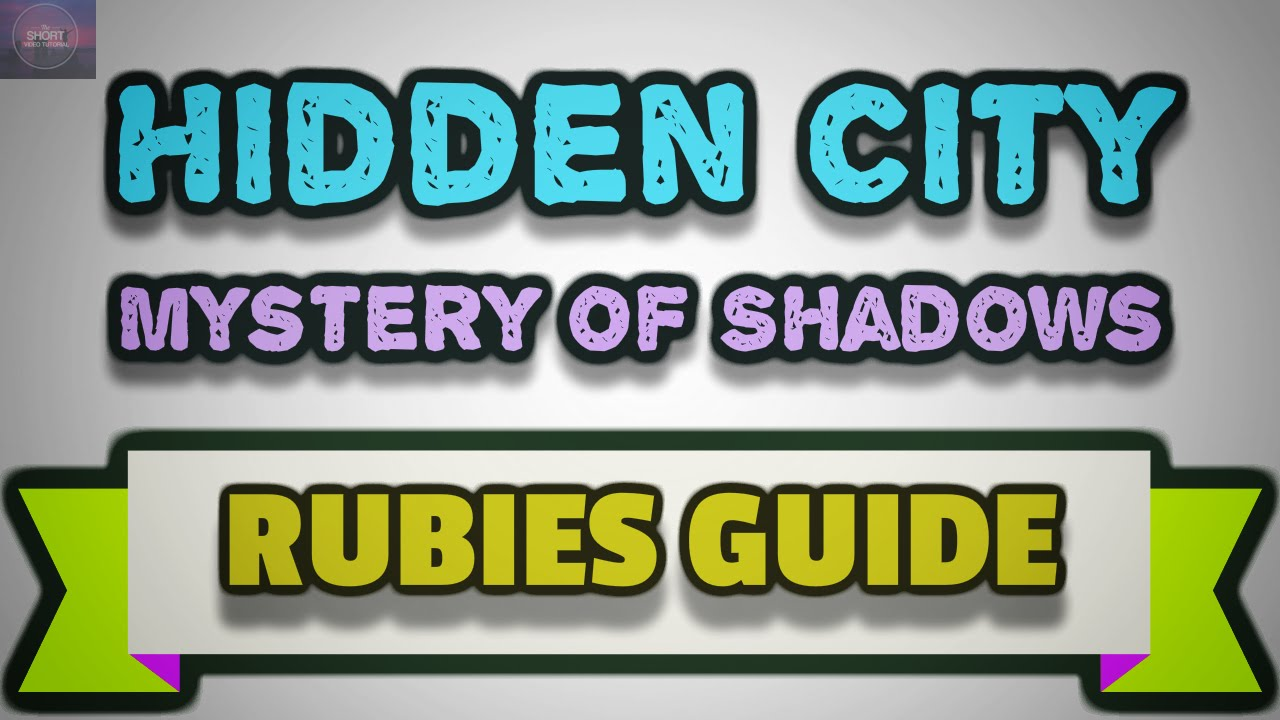 <b>Hidden City</b> Mystery of Shadows - Tips and Tricks to get Free ...