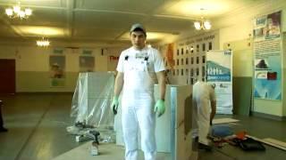 мастер-класс кнауф 2013(28 марта компания «Knauf» совместно с Новокузнецким строительным техникумом и строительным центром «Первомас..., 2013-04-03T05:52:25.000Z)