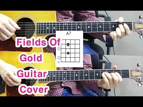 [Sting] Fields Of Gold Acoustic Guitar Cover(Chords) 배우기