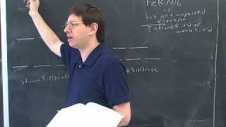 Transition metals and the crystal field model (4)