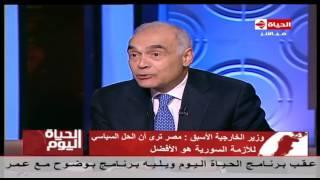 فيديو.. وزير الخارجية الأسبق: تصريحات «السيسي» بشأن إسرائيل تقال في كل الاجتماعات.. ولا أعلم ما وراء اختيار توقيت إعلان هذا الموقف