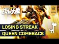 EPIC QUEEN GAME Dota Auto Chess LOSING STREAK Hunter Strategy Explained | High Rank Replay