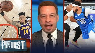 Danny Green & Seth Curry join 76ers, talks NBA Draft & Klay injury - Broussard | FIRST THINGS FIRST
