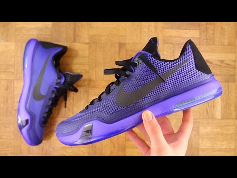 Kobe X Performance Overview - MY INITIAL THOUGHTS!