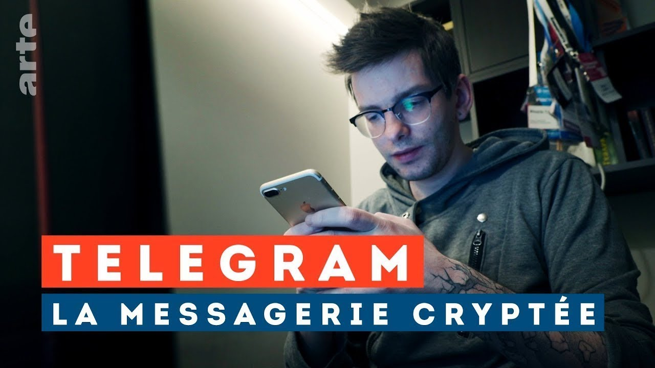 Telegram, la fabrique de (fake) news - ARTE