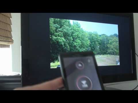 Droid X HDMI Output Demo